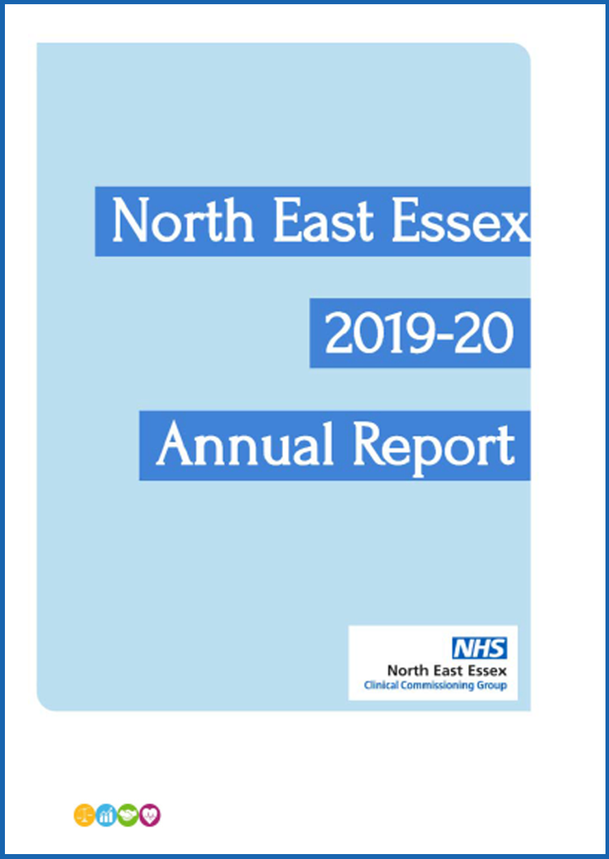 front cover of the 2019/20 Annual Report
